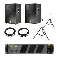 DJ Gear - PA System